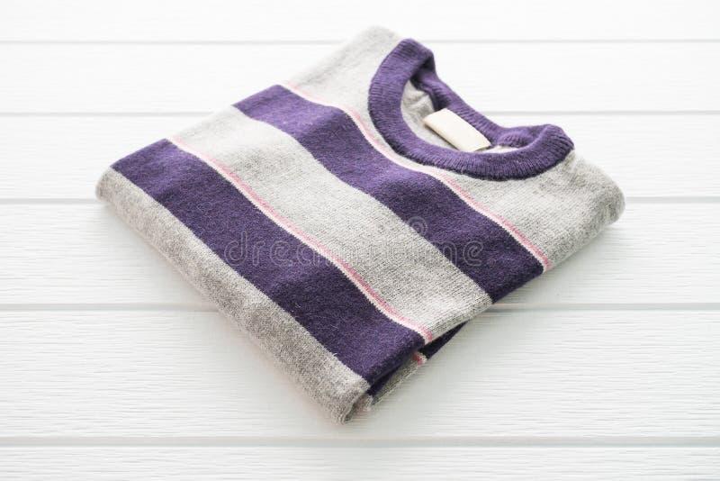Wełna puloweru odzież i koszula obrazy royalty free