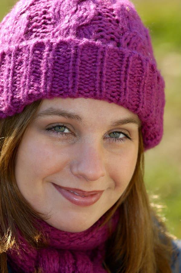 wełniane kapelusz. obraz stock