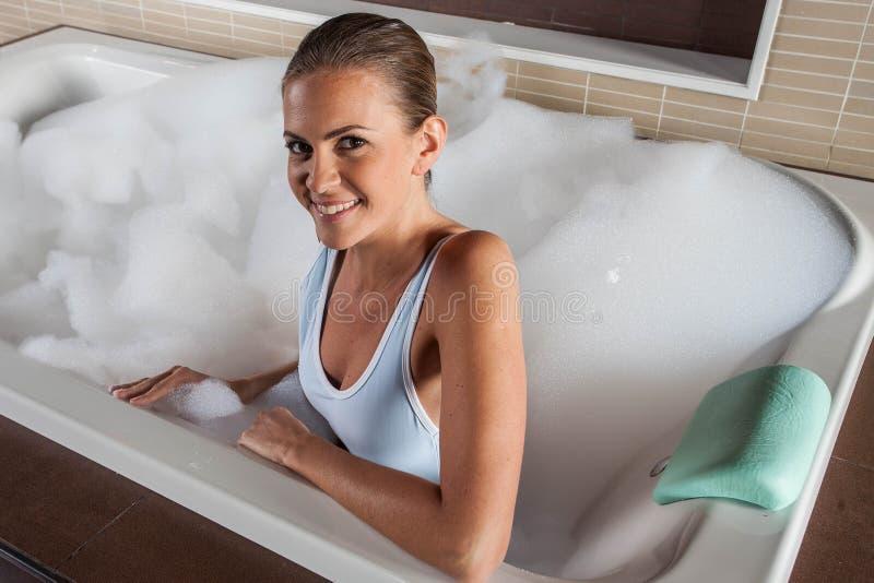 weź prysznic kobiety fotografia stock