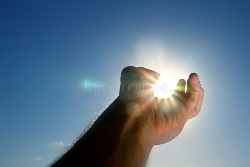 weź słońce obraz royalty free