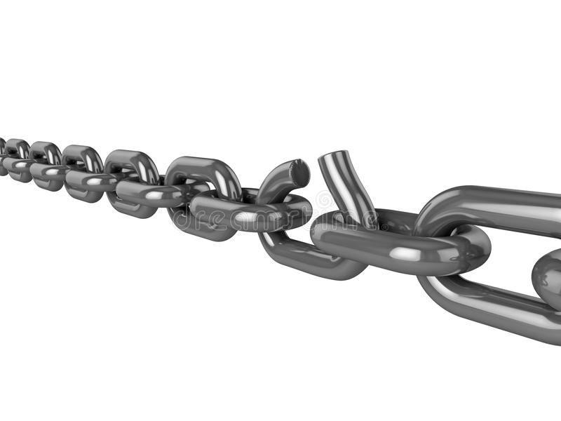 Weak Link Stock Photography