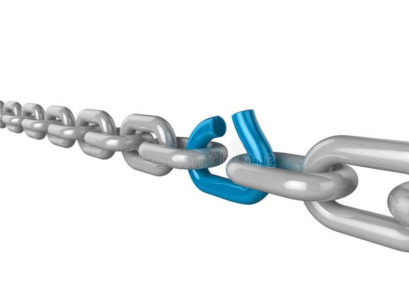 Download The Weak Link Royalty Free Stock Photography - Image: 17214107