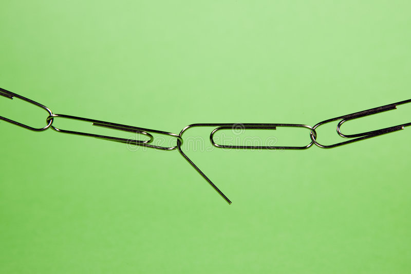 Download Weak link stock image. Image of tools, background, paperclip - 4589363