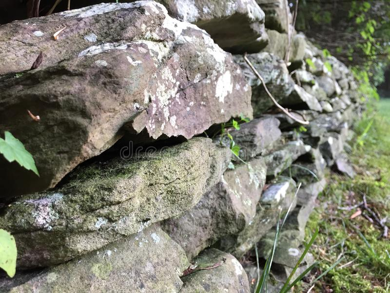 Weall de la roca imagen de archivo