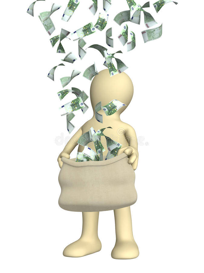 Wealth stock illustration