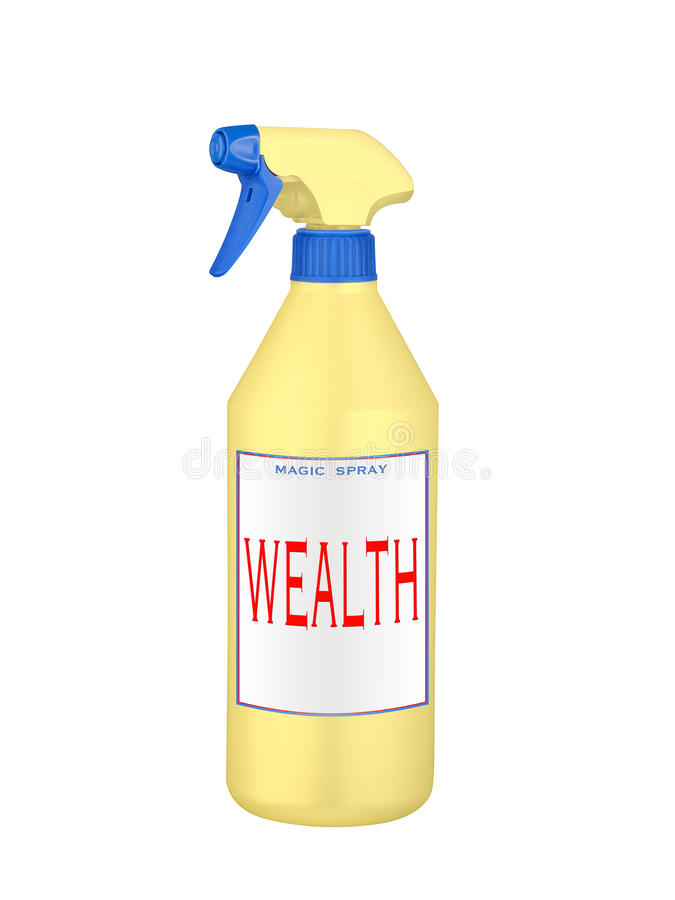 Download Wealth magic spray stock image. Image of miraculous, life - 18381433