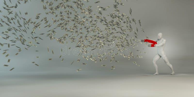Wealth Management royalty free illustration