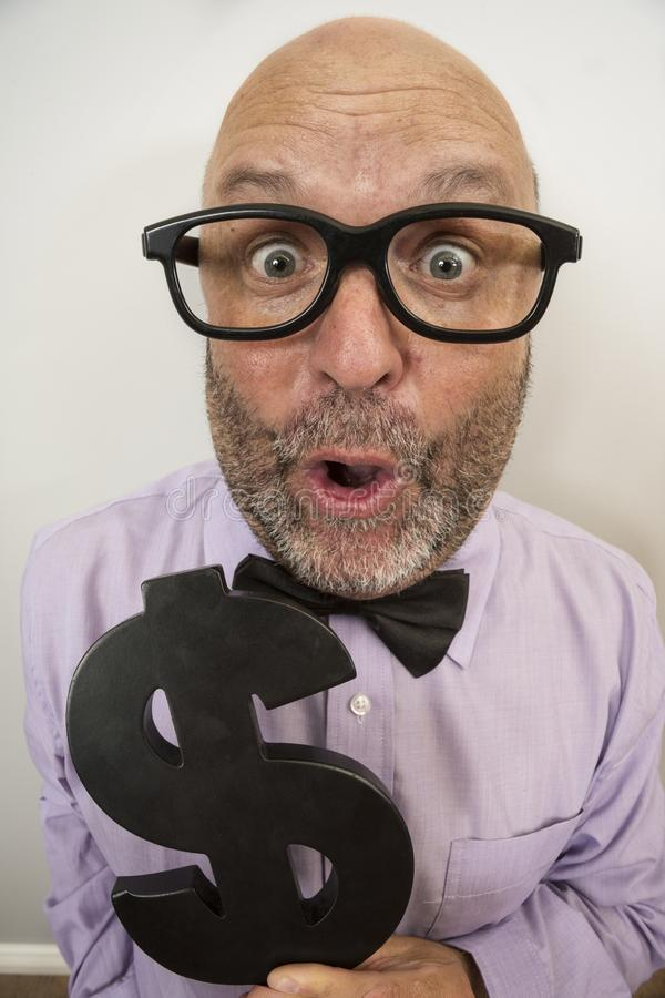 Wealth and Money Excitement stock images