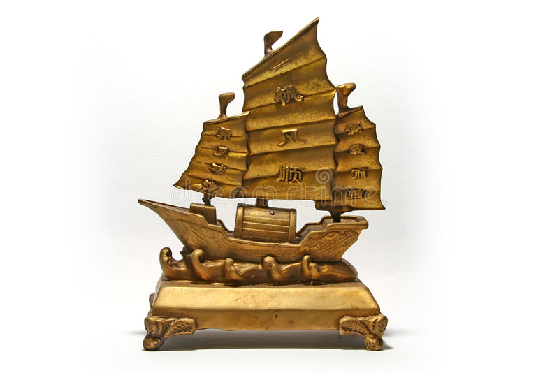 Wealth Ship royalty free stock images