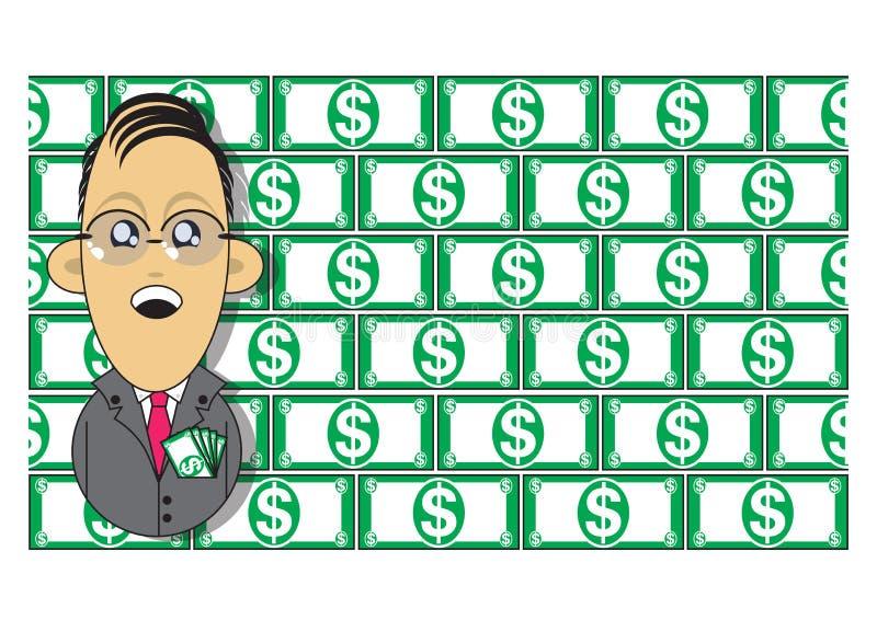 Download Wealthy Businessman Illustration Stock Illustration - Image: 16278916