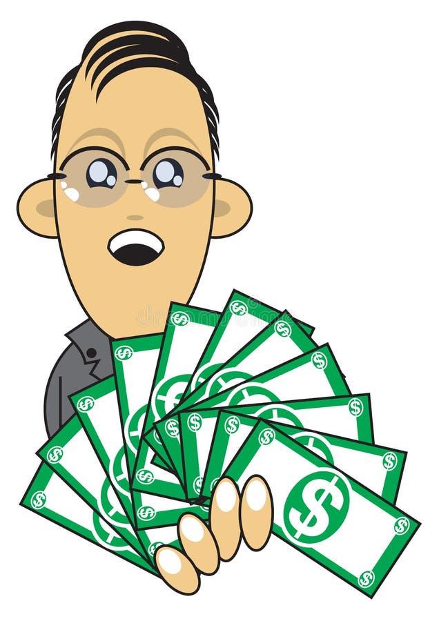 Download Wealthy Businessman Illustration Stock Illustration - Illustration: 16287259