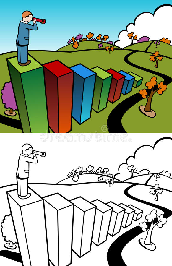 Download Wealthy Perspective Set stock vector. Illustration of design - 13264209