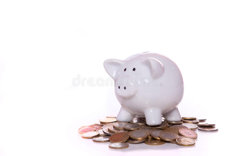 Download Wealthy piggy bank stock image. Image of finance, piggy - 12689143