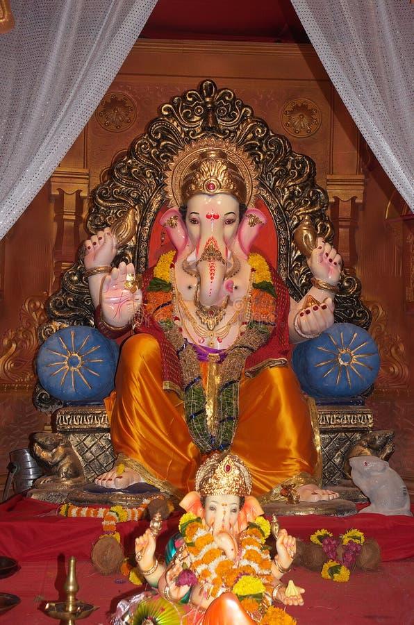 Wealthyl Indiańskiego słonia władyka Ganesh zdjęcia royalty free
