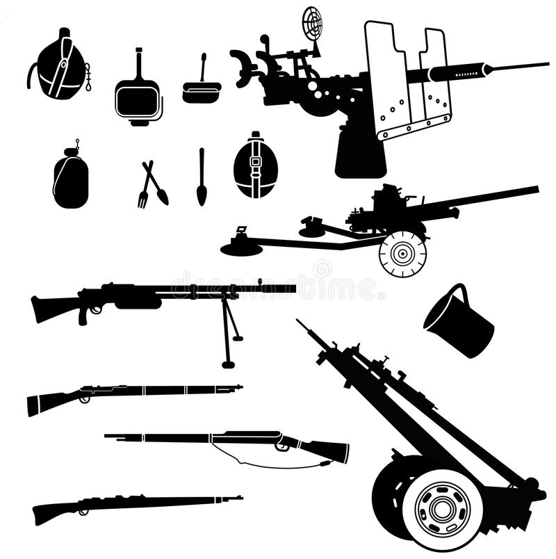 Download Weapon 2 Royalty Free Stock Image - Image: 25944186