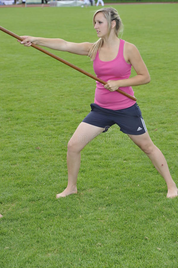 Download Weapon Karate with Bo editorial photo. Image of camp - 20670461