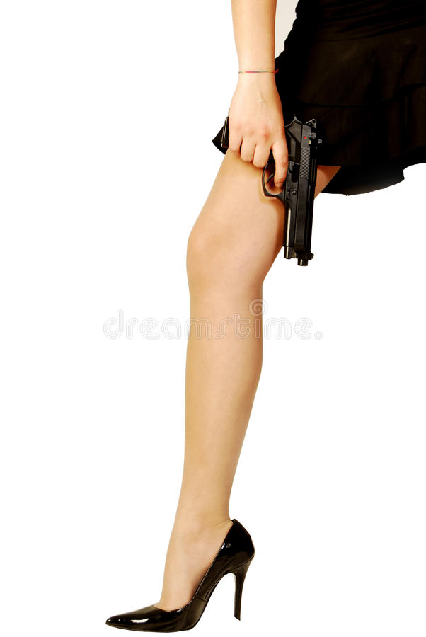 Weapon of Seduction. (Only For women stock images