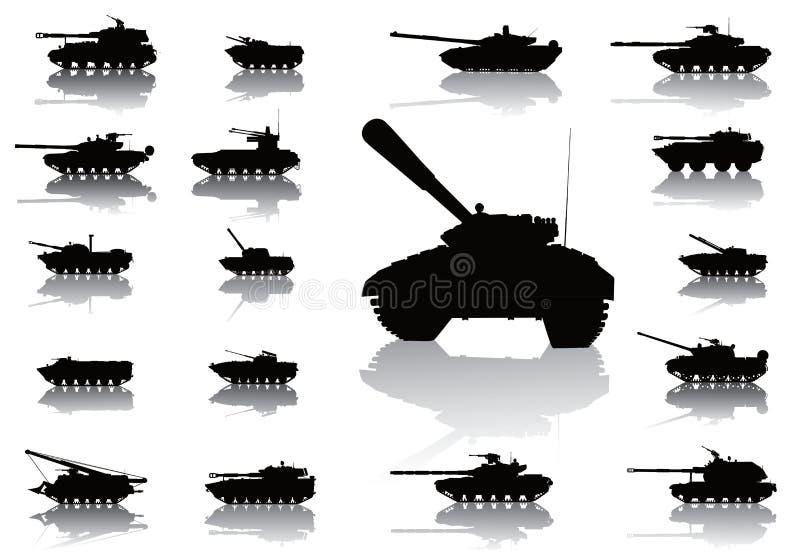 Weapon.Tanks 皇族释放例证