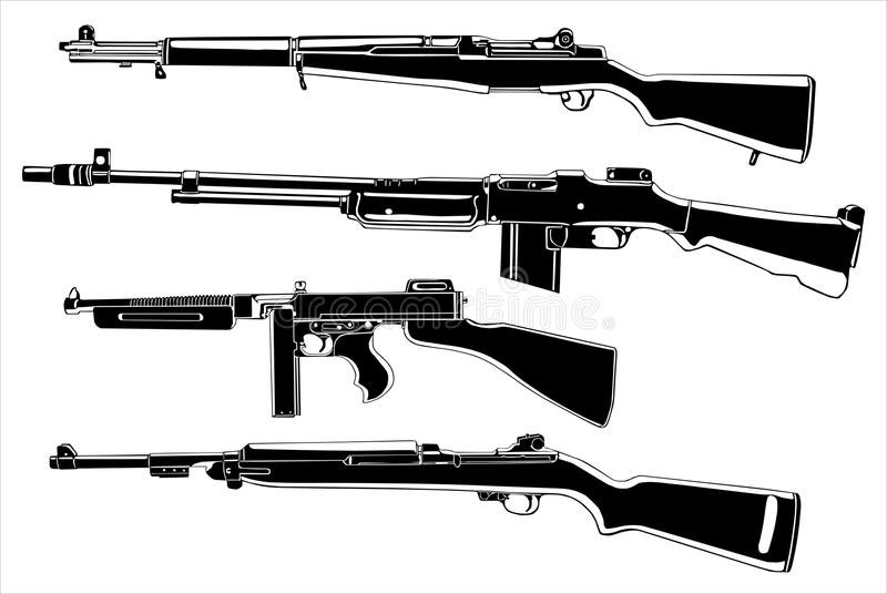 Weapons stock image