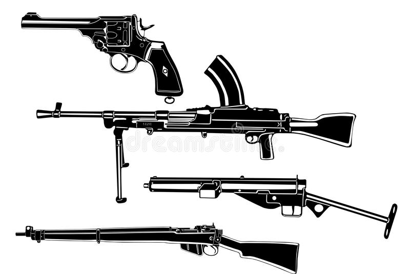 Weapons stock photos