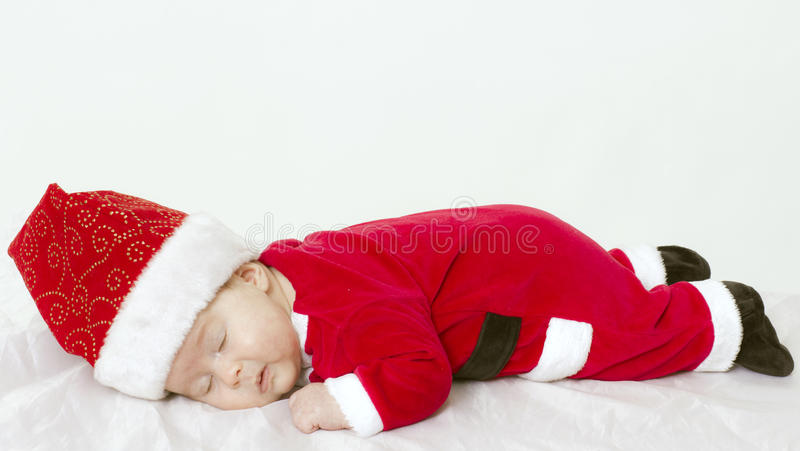 Weary New Year stock image