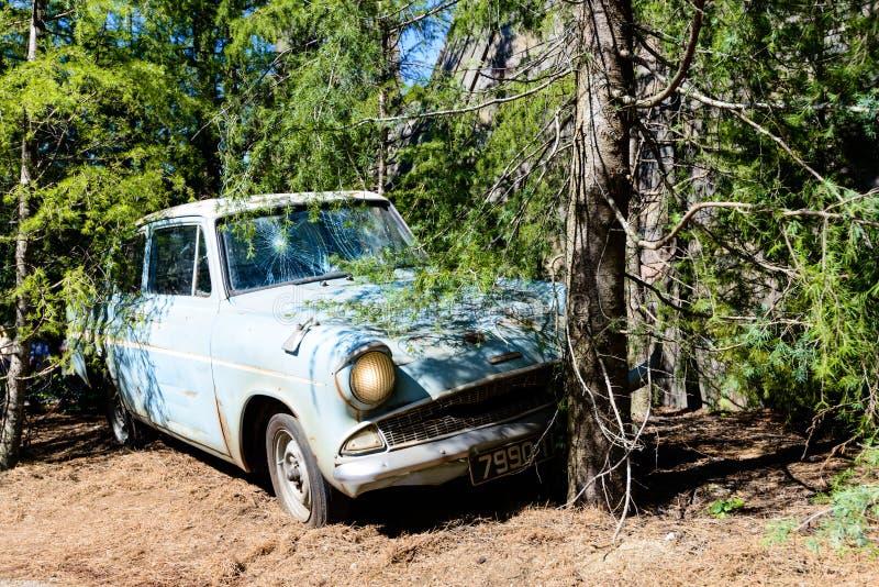 Weasleyauto royalty-vrije stock afbeeldingen