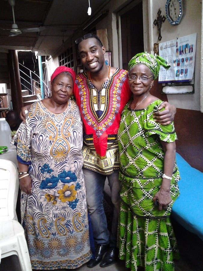 Weat Afrika royaltyfri fotografi