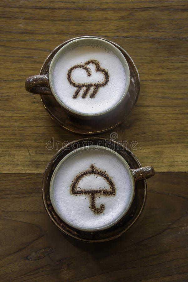 Weater de café image stock