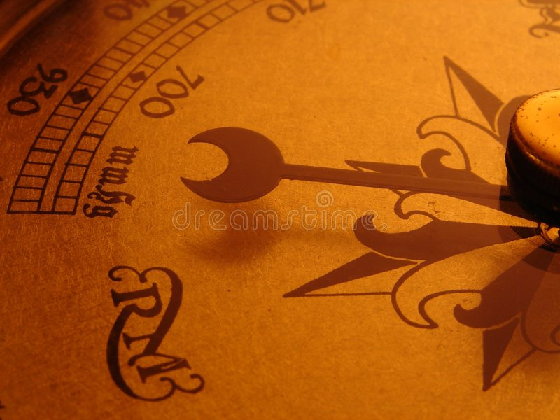 Weather clock royalty free stock images