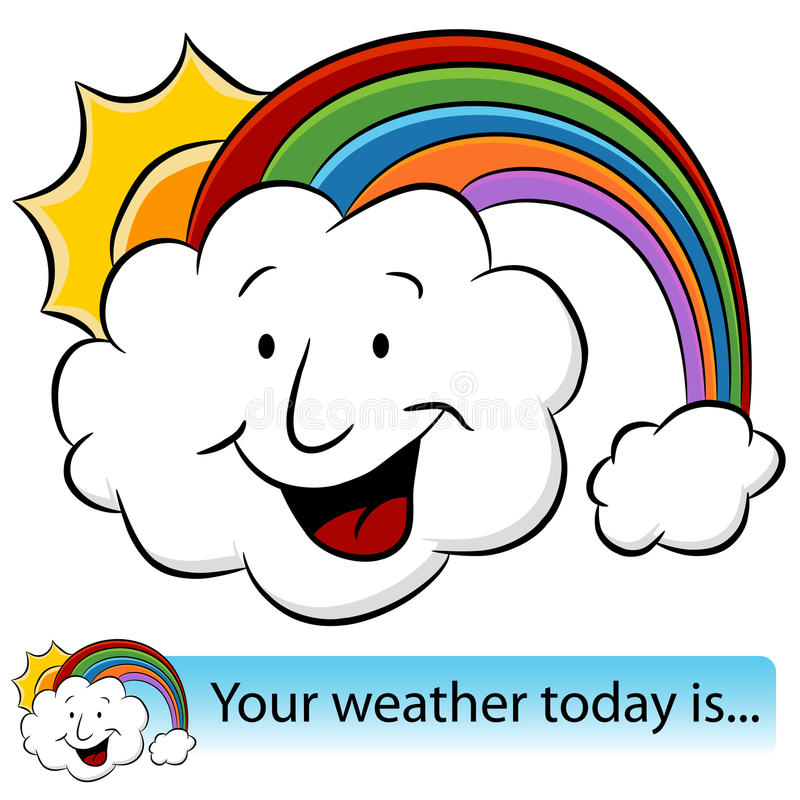 Download Weather Cloud Banner stock vector. Image of clip, message - 19613478
