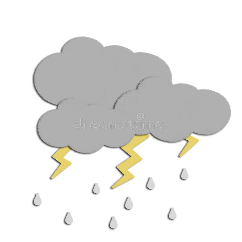 Weather drawing vector illustration
