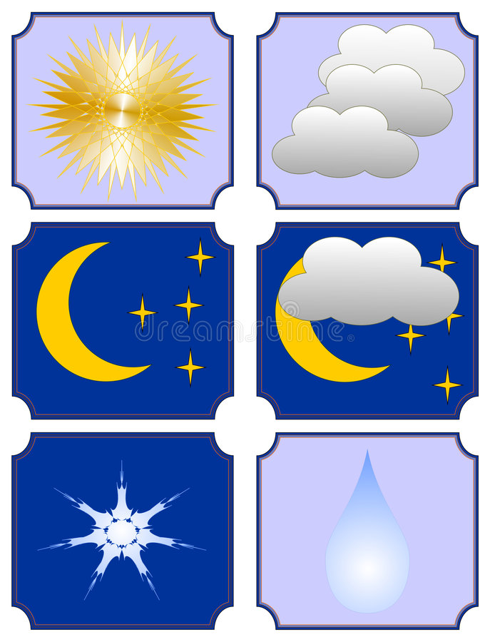 Weather Forecast Royalty Free Stock Photos