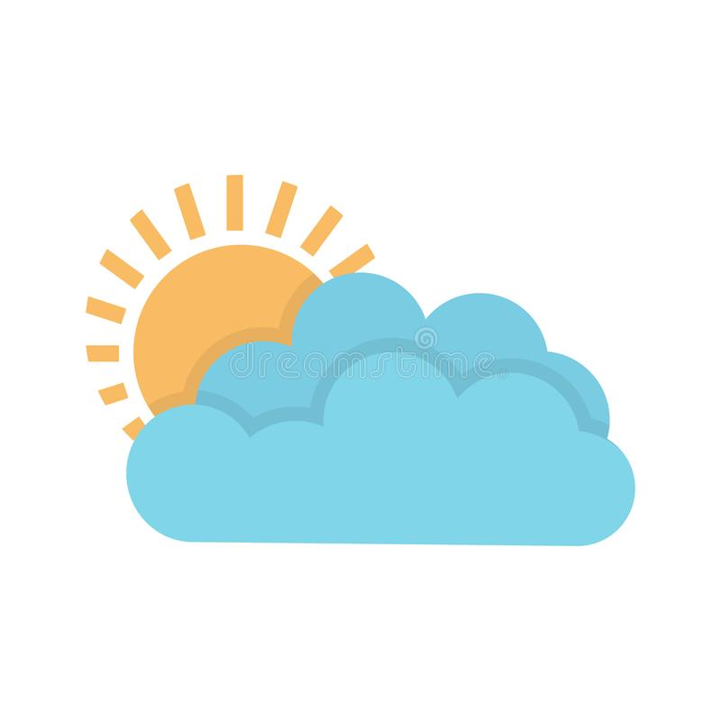 Free Weather Forecast Icon, Seasons Clouds Label, Cloudy, Weather Forecast On White Background, Seasons Clouds Logo, Stock Photography - 126508082
