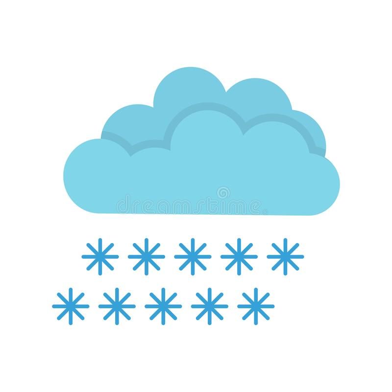 Free Weather Forecast Icon, Seasons Clouds Label, Cloudy, Weather Forecast On White Background, Seasons Clouds Logo Stock Photography - 127601992
