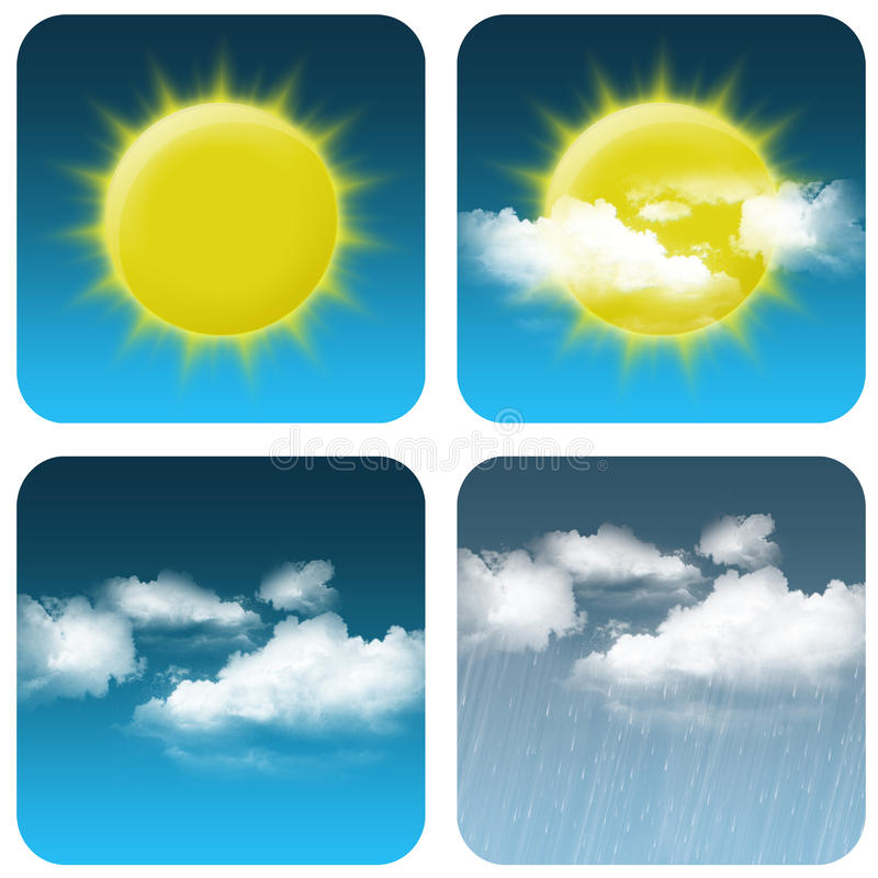 Free Weather Icon Royalty Free Stock Image - 20033386