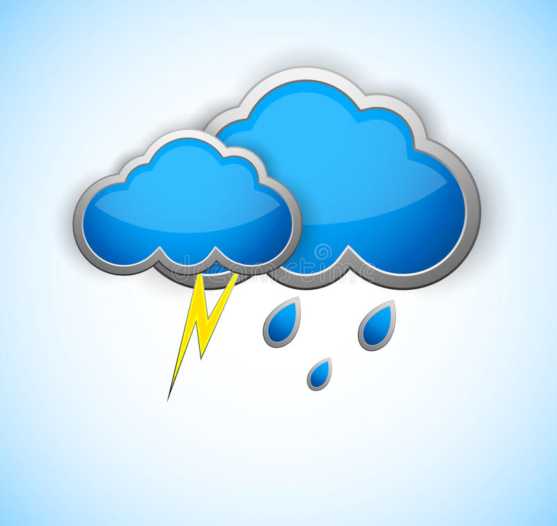 Download Weather icon stock vector. Illustration of drop, fall - 27076535