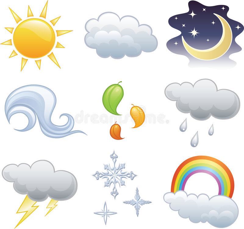 Free Weather Icon Royalty Free Stock Images - 5815199