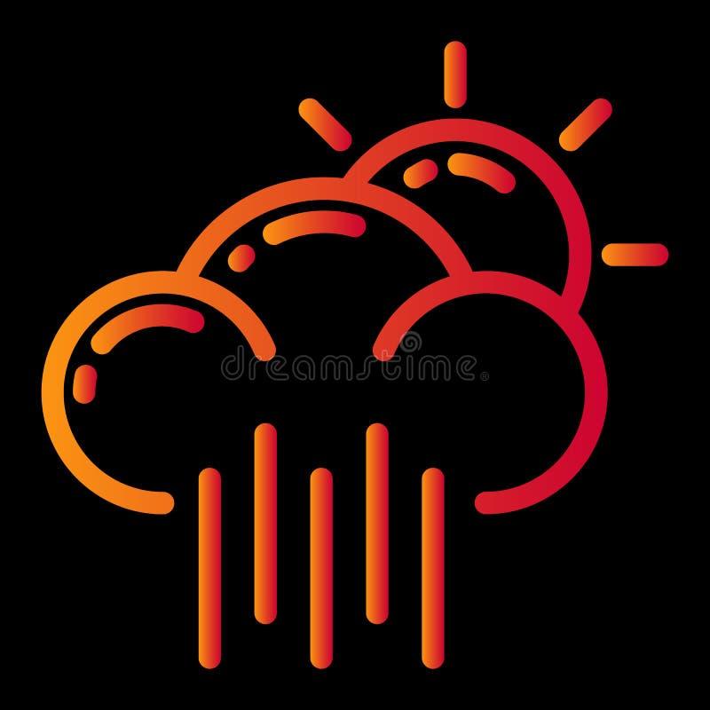 Weather icon design vector illustration