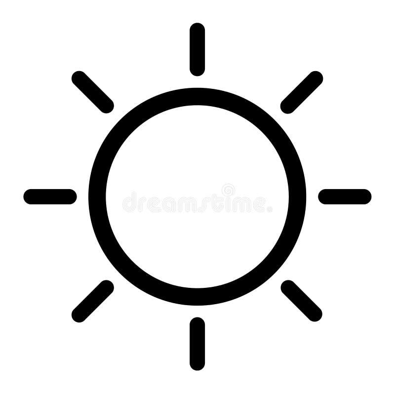 Weather icon design royalty free illustration