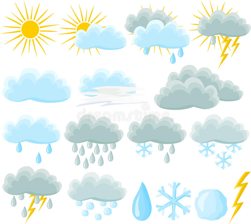 Download Weather Icon Set Stock Images - Image: 14627354