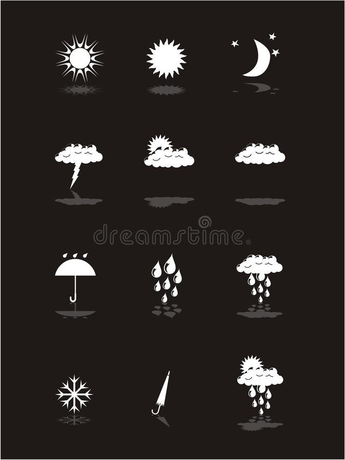 Download Weather Pictograms Banner Set Stock Vector - Image: 11356847