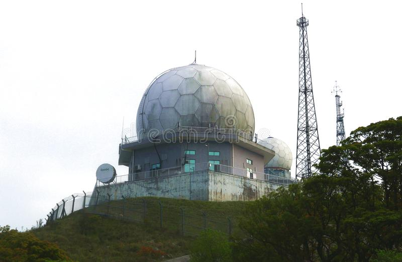 Weather Radar Observatory Station royalty free stock images