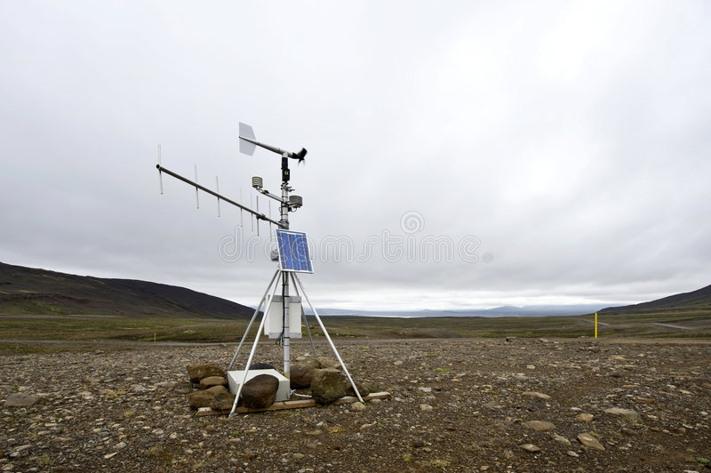 Weather Station Royalty Free Stock Photo