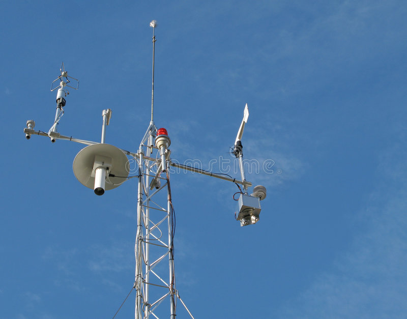 Download Weather Station stock photo. Image of climatology, wind - 7514438