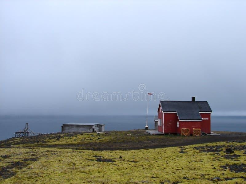 Download Weather Station On Nord Coastline Of Jan Mayen Stock Photo - Image: 24441392