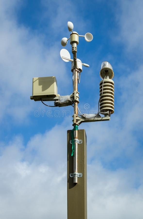 Download Weather Station stock image. Image of equipment, speed - 114958229