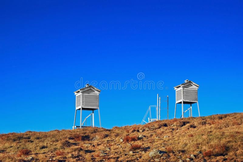 Download Weather towers stock photo. Image of meteorological, science - 21751034
