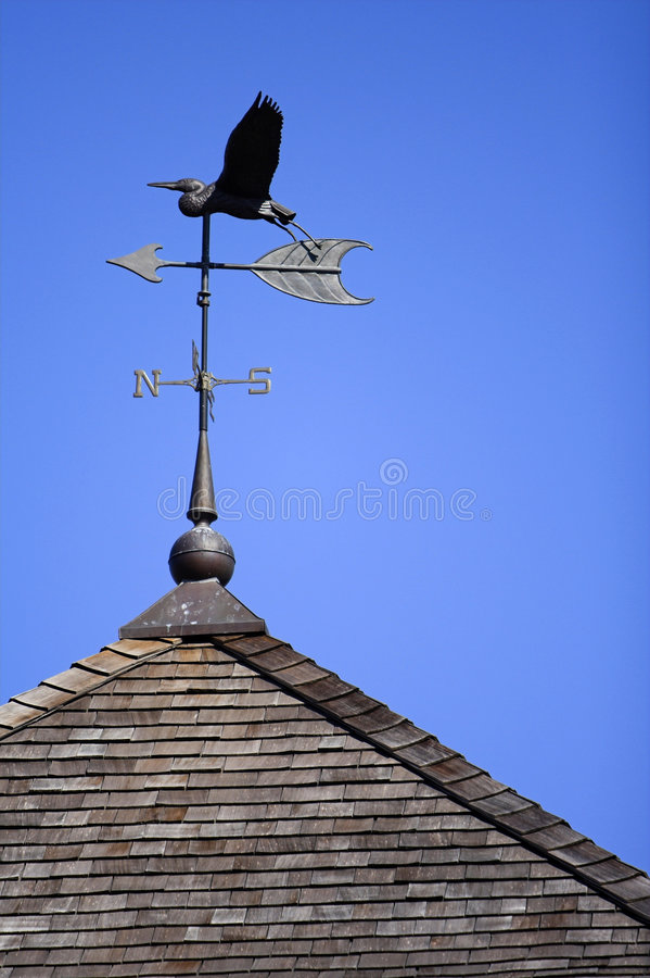 Download Weather Vane stock image. Image of egret, south, point - 2160019