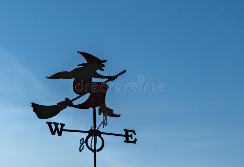Weather vane stock image