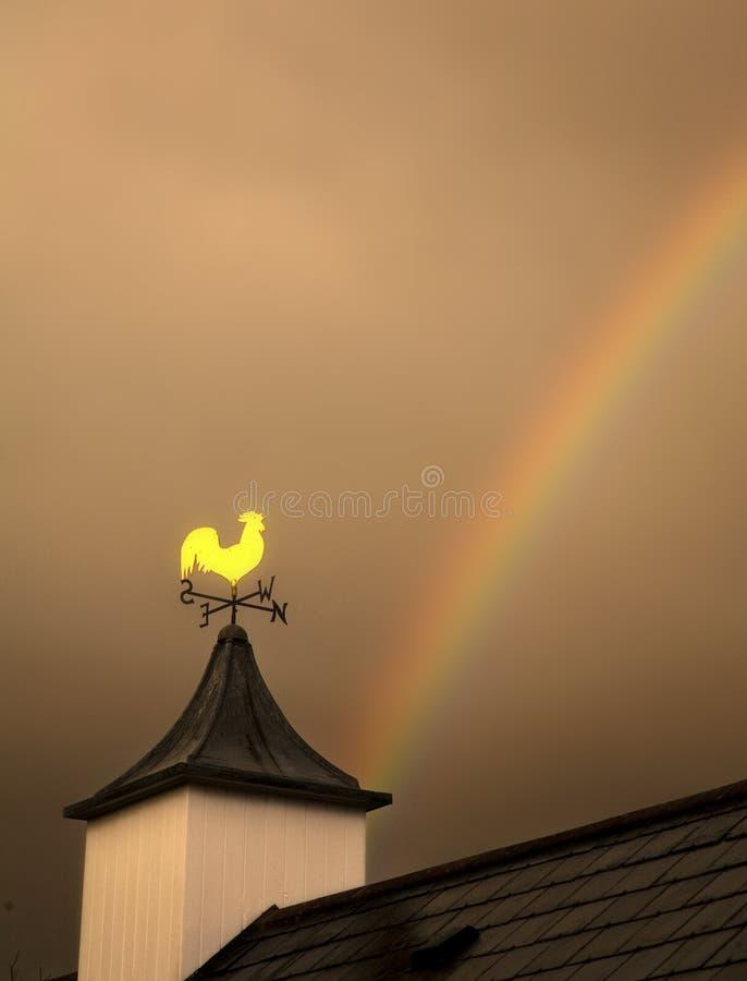 Free Weather Vane Rainbow Stock Photo - 14557360